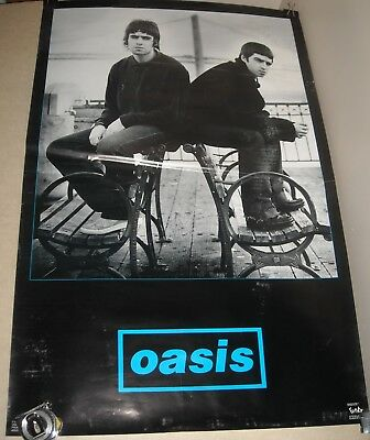 Oasis Gallagher Brothers Promo Advertising Poster