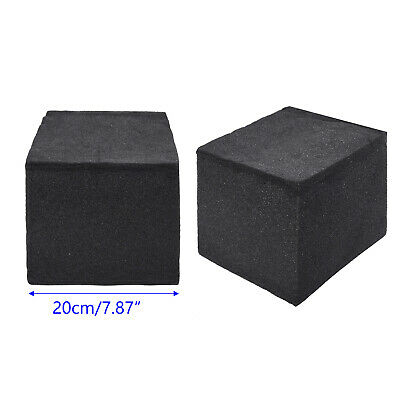 2Pcs Soundproof Studio Acoustic Corner Cube Bass Trap Foam Absorption For Room