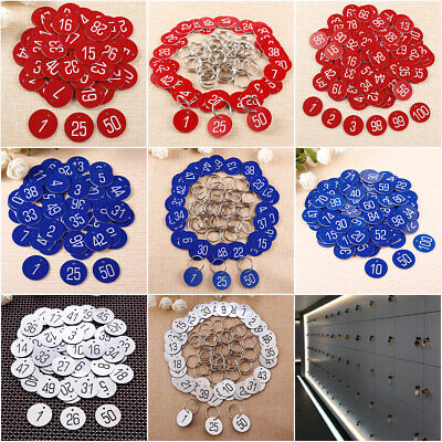 Engraved 30mm discs Table numbers Pubs Restaurants Clubs