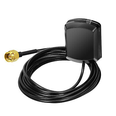 1575.42MHz 27dB 3m GPS Antenna SMA Male Plug Active Aerial Extension Cable xzc