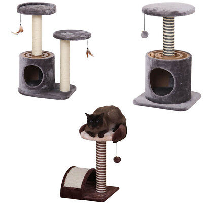 Cat Tree Scratcher Post Play House Kitten Condo Furniture Bed Warm Pet House