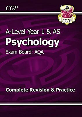 New A-Level Psychology: AQA Year 1 & AS Complete Revision & Practice,CGP Books