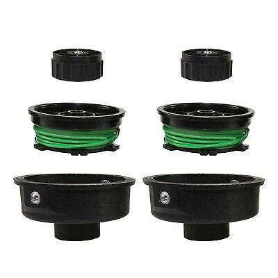 Double Twin Feed Compact Head /& Spool for HOMELITE Strimmer Trimmer Replacement
