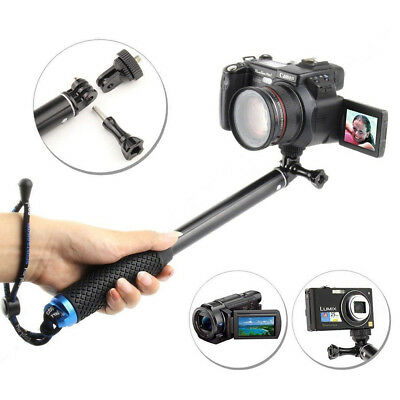Extendable Telescopic Monopod Selfie Pole Handheld Stick for GoPro iPhone 8/X/ 7