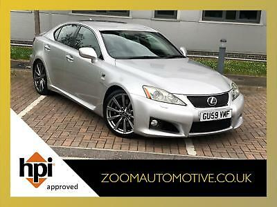 2009 Lexus Is F 5.0 V8 Auto Saloon Silver 98,000 Miles