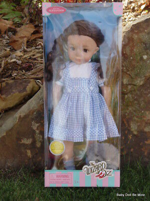 New ~ Madame Alexander ~ Dorothy from The Wizard of Oz ~ 18 inch Doll with Toto
