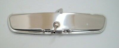 """1965-1971 Chevy Bel Air Biscayne Impala 10"""" Stainless Interior Rear View Mirror"""