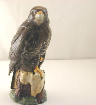 "Beswick ""Buzzard"" whisky flask EMPTY"