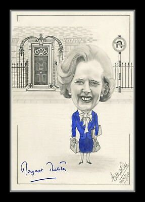 Collectors/Photograph/Photo/Print - Margaret Thatcher UK Prime Minister Signed