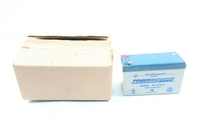 Power-sonic PS-1270-F1 Sealed Rechargeable Battery 12v-dc 7a Amp