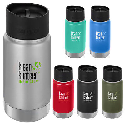 Klean Kanteen 12 oz. Wide Insulated Bottle with Cafe Cap