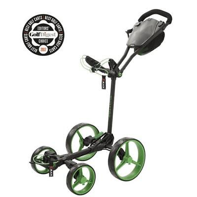 Big Max GOLF Lama quattro piatto pieghevoli Carrello Golf (Phantom/Lime )