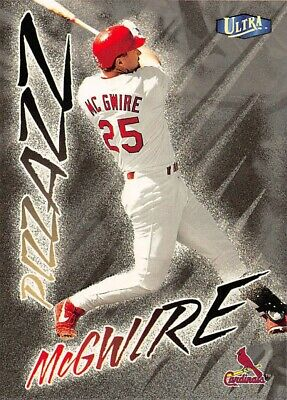 1998 Ultra 494 Mark Mcgwire St Louis Cardinals Baseball