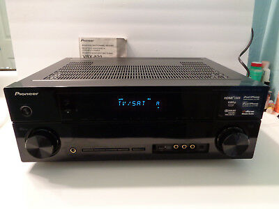 pioneer vsx 820 a v multi channel receiver and instruction manual rh picclick com