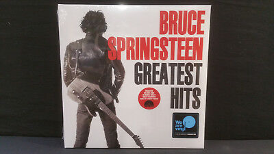 Bruce Springsteen ' Greatest Hits  ' 2 X  Lp Mint & Sealed Rsd 2018  Red