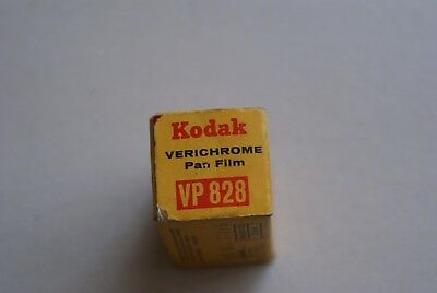 Vintage Kodak Verichrome Pan VP828 Black And White Film Exp 1971