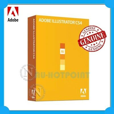 Adobe Genuine Illustrator CS4 for Mac EDUCATION Version [P/N:65008843]