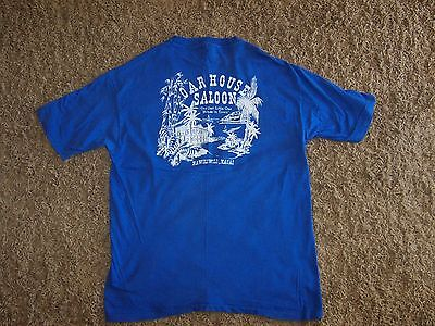 pre-owned vintage t-shirt from the Oar House Saloon in Nawiliwilli, Kauai, Hanes