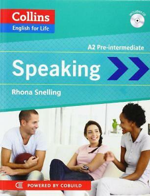 Collins English for Life: Speaking A2 by Snelling, Rhona | Paperback Book | 9780