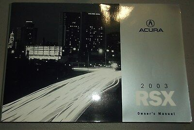 2003 acura rsx owners manual 13 49 picclick rh picclick com 2003 acura rsx owners manual pdf 2003 acura rsx user manual