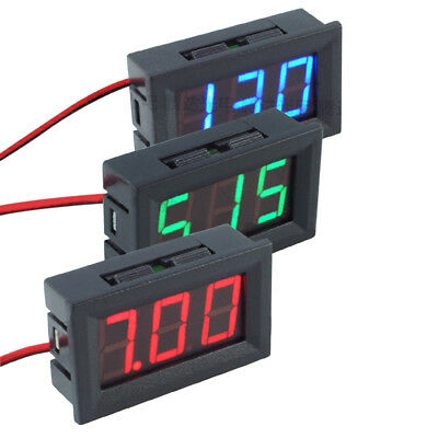 Mini 0.56inch LED Display DC 4.5-30V Two-wire Digital Panel Voltmeter Voltage