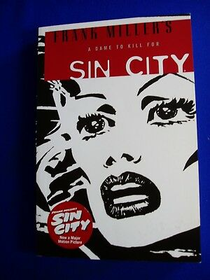 Frank Miller's Sin City 2:  A Dame To Kill For. Signed autographed. VFN/NM.