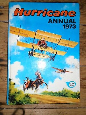 The Hurricane  1973  - Annual - Unclipped