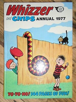 Whizzer and Chips Annual  1977  - Annual - Unclipped