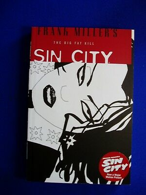 Frank Miller's Sin City 3:  The Big Fat Kill. Signed autographed. VFN/NM.
