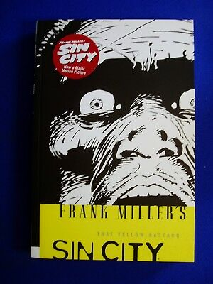 Frank Miller's Sin City 4:  That Yellow Bastard. Signed autographed. VFN/NM.