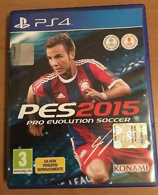PLAY STATION 4 PS4  PES 2015 PRO EVOLUTION SOCCER in ITALIANO