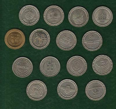 Casino Gaming Token - You Pick The One You Want - A To B - Vegas / Reno / More