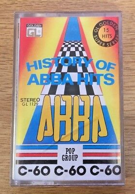History of ABBA HITS CASSETTE