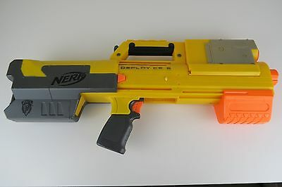 Nerf N-Strike Deploy Cs-6 / Collapsible Gun / Magazine Laser Sight