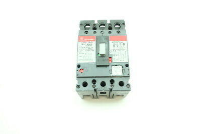 Ge SELA36AT0100 Spectra Rms Circuit Breaker 100a 3p 600v-ac W/ 90a Plug