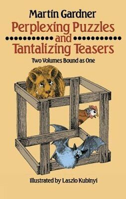 Dover Children's Activity Bks.: Perplexing Puzzles and Tantalizing Teasers-Marti