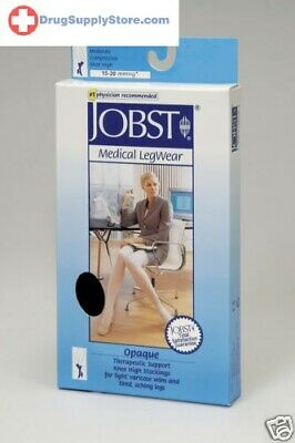 Jobst Opaque Petite Knee High Closed Toe 15 - 20 mmHg Compression