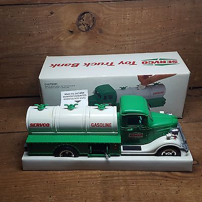 1986 Servco Tanker Truck  (Like  The 1985 Toy Hess),  In The Box~Battery Tested~