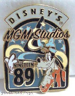 Disney WDW GOOFY MGM STUDIOS PARK OPENING RETRO 3D PIN 2007 Issue New On Card