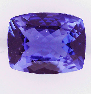2.02ct!! NATURAL TANZANITE EXPERTLY FACETED IN GERMANY +CERTIFICATE AVAILABLE