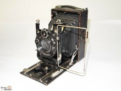 ICA Run GROUND CAMERA FOLDING CAMERA 6X9cm Carl Zeiss Jena Tessar 4,5 f=10,5cm