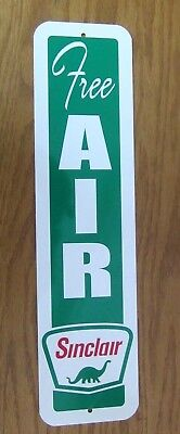 Sinclair Free Air Sign Eco Meter Gas Service Station  Pump Tire Inflating
