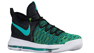 sports shoes ebb42 82596 ... 50% off nike mens zoom kd 9 clear jade black 843392 300 birds of  paradise