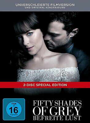 Fifty Shades of Grey 3 - Befreite Lust - Digibook # DVD-NEU