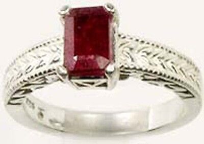 Ruby Ring 1¼ct Antique 19thC Medieval Magical Medicine Danger Anti-Poison Amulet