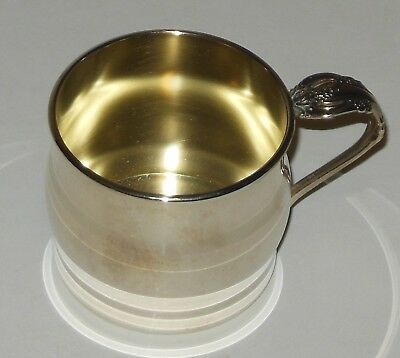Vintage Children's Silverplate Small Cup Community