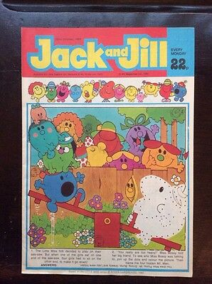 Jack And Jill Comic 22 Oct 1983 Vf+/nr Mint.  Unread Unsold Newsagents Stock.