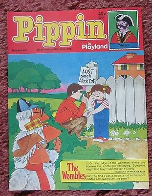 Pippin Comic 24 June 1983. No.874. Nr Mint.  Unread Unsold Newsagents Stock.