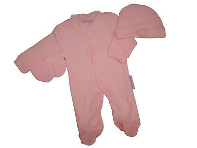 BNWT Tiny baby Premature Preemie 3 piece little Ted layette set in pink or blue