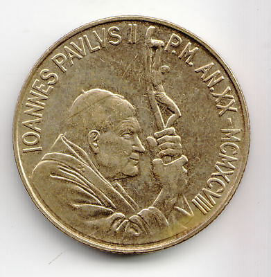 Vatican 200 Lira 1998 Brass Ef+          8J         By Coinmountain